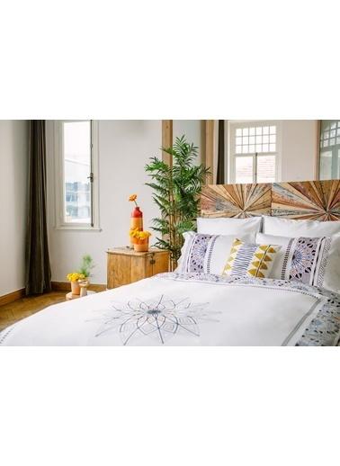 Bella Maison %100 Pamuk North Volanlı Yastık Kılıfı 50x70 cm (2 adet) Renkli